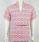 RED PATTERN Fear and Loathing in Las Vegas Raoul Duke Shirt Costume