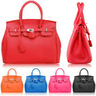 Hollywood Star Designer Leather Satchels Ladies Tote Boston Purse Bag Handbag