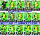 MATCH ATTAX 13 14 Choose Your NORWICH CITY Individual Base Cards 2013 2014