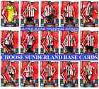 MATCH ATTAX 13 14 Choose Your SUNDERLAND Individual Base Cards 2013 2014