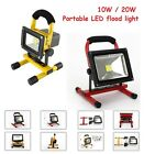 New 10w/20w Portable Day White LED Work Light Rechargeable Flood Light 12V  IP65