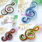 1 Pcs Music Murano Art Glass Beads Pendants Fit Necklace