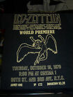 LED ZEPPELIN THE SONG REMAINS THE SAME WORLD PREMIERE 1976 T-SHIRT NEW !