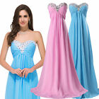 UK 2015 CHEAP~ Chiffon Evening Ball Cocktail Prom Dress Bridesmaid Dresses Gown
