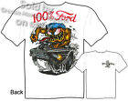 Rat Fink T Shirt 100% Ford Big Daddy Tee 65 Falcon 1965 Ed Roth Sz M L XL 2XL 3X