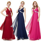 Ladies Long Bridesmaid Formal Dresses Party Prom Evening Ball Gown 09981 SZ 8-18
