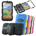 ShockProof Rugged Hybrid Case Cover W/Belt Clip  for Samsung Galaxy Note3 III S5