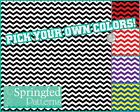 CHEVRON STRIPES PATTERN VINYL #1 Craft Decal Sheets Scrapbook CUSTOM COLORS!
