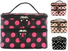 WOMENs RETRO Travel Beauty Case Cosmetic Makeup Bag Toiletry Beauty Wash Case