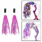 Bicycle Bike Cycle Tricycle Kids Girls Handlebar Streamers Tassels Retro 2 Pack