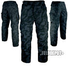 US BDU Feldhose Night Camo RIP-STOP Kampfhose Army Field Pants