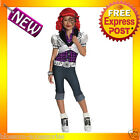 CK52 Monster High Operetta Child Girl Costume Fancy Dress Up Party Outfit