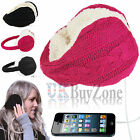 Knitted Sound Audio Music Earmuffs Headphones Warm Winter Hat iPad iPod iPhone