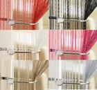 GLITTER STRING CURTAIN For Doors & Windows Great DECORATIONS ~ Many Colours!!