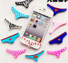 Underwear Thong Soft Silicone Home Button Case Cover For iPhone 5 4 4S Sexy Lady