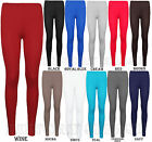 WOMENS LADIES PLAIN WINTER STRETCHY LEGGINGS BIG SIZE PLUS SIZE HIGH QUALITY