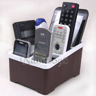 TV Game Video Audio Phone Caddy Remote Controller Organizer Storage Box Holder