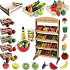 Toy Shop Accessory Food Fruit Vegetables Wood