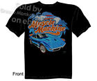 C3 68 69 Corvette T Shirt 427 Stingray Tee Muscle Machine Chevy Sz M L XL 2XL 3X