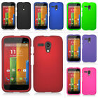 For Motorola Moto G Colorful Rubberized Hard Case Snap On Cover Phone Accessory