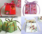 Wedding/Party/Table Sweets/Candy Favour Boxes With Ribbon Tie floral patterns