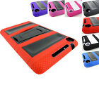 FOR GOOGLE NEXUS 7 2013 RUGGED HYBRID VAULT TABLET IMPACT CASE COVER +STYLUS/PEN