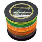 8Strands2000M Multi-Color Super Strong Dyneema Saratoga Braided Sea Fishing Line