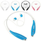 Bluetooth Wireless Headset Stereo Headphone Earphone Sport for iPhone Samsung LG