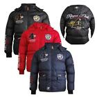 "Geographical Norway Herren Winterjacke ""Cincinatti"" schwarz, navy, rot S - 2XL"