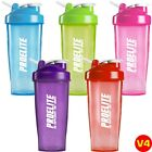 Smart Neon Blender Bottle Shaker Cup Shake Protein Weight Gainer 600ml - 700ml