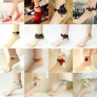 Fashion Ladies Gothic Party Dance Lace Anklet Chain Foot Ankle Bracelet Jewelry