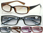 R440 BIFOCAL Light Tinted Lens Reading Glasses Plastic Frame/Spring Hings