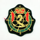 GIRL CROWN Badges Sew/Iron On Patch 70mm S0243