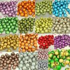 Bulk! Mixed 10mm Acrylic Round Miracle Magic Beads Jewellery Finding Loose Beads