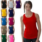 Ladies CoolTex Running Vest Racer Back Gym Athletic Sports Top UK 8-16