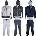 Mens Casual Fleece Full TrackSuits Jogging Bottom Top Boys Hoodie Track Suit