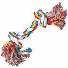 Zanies NATURAL COTTON VEGETABLE DYES  Rope Bones Dog Toys 18""