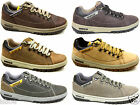 MENS CATERPILLAR CAT APA LEATHER CLASSIC CASUAL LACE UP TRAINERS SIZES 6-11 NEW