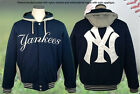 OFFICIAL NEW YORK NY YANKEES FLEECE REVERSIBLE 3XL HOODIE JACKET JH DESIGN BNWT on Ebay