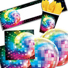 Groovy Mirror Ball 70's Disco Fever Party Tableware Decorations In 1 Listing PA