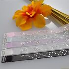 1 pair Halter Style Beaded Replacement Bra Straps 30 32 34 36 38 A B C #BS1023