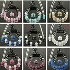 2014 HOT Shamballa 10mm Czech Crystal Disco Ball 925Silver chain Sets+gift box
