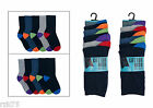 10 Pairs Of Kids Socks, Bright Heel & Toe Sock, Easy to Pair, Various Sizes 396