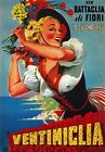 TV66 Vintage 1950's Ventimiglia Italy Italian Travel Poster Reprint A3/A4