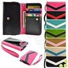 caseen AT&T Galaxy Note 2 Smart Phone Wallet Clutch w/Wrist Strap Bag Case Cover