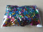 METALLIC SEQUIN TABLE CONFETTI SPRINKLES 8gm Pack VARIOUS DESIGNS AVAILABLE