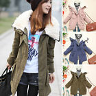 Newest Womens Fashion Korean Winter Warm Thick Cotton Padded Outdoor Coat Jacket