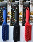 Rubber Dog Cat Animal Pet Hair Fur Fluff Remover Carpet Grooming Brush