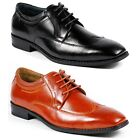 Ferro Aldo Mens Lace Up Dress Classic Oxford Shoes w/ Leather lining M-19280A
