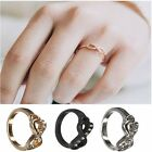 Fashion Lady Punk Rock Bowknot Infinite Infinity Charm Finger Rings Gift 3 Color